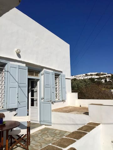 Traditional house with panoramic view