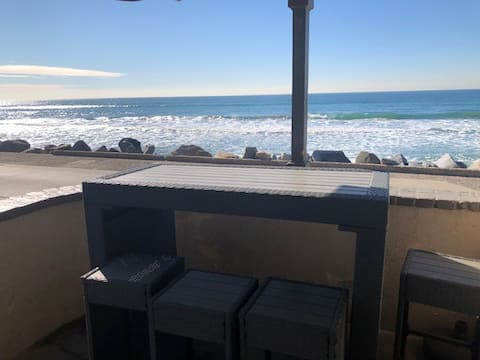 Lovely One Bedroom (Unit 1), 12 ft From the Sand