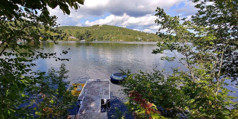 Chalet bord de l'eau, Petit Lac Brompton