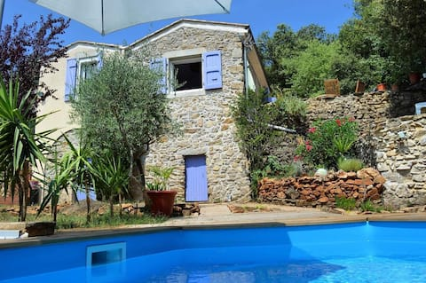 Independant apartment in Mas - private pool - Terraces