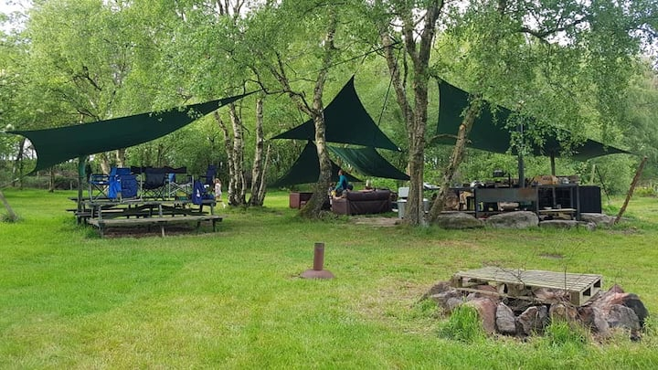 THE CAMPSITE - exclusive group eco-camping