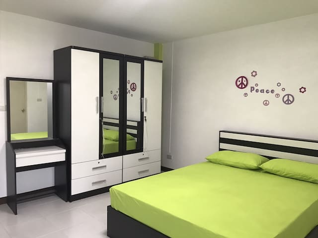 Brand new walk-up apartment in Min Buri BKK