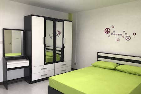 Brand new walk-up apartment in Min Buri BKK