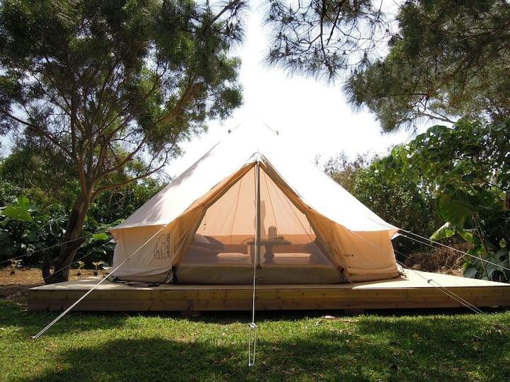 [6mins car->Miyako Airport] Deluxe Gramping Tent