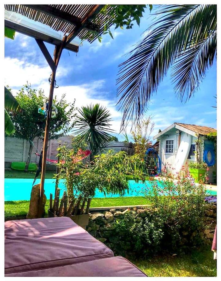 La Perle de l' Epine , maison avec piscine