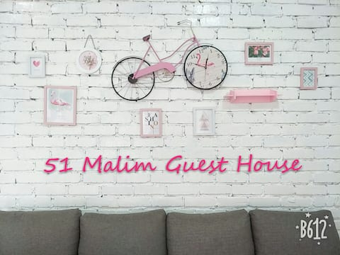 51 Malim Guest House-All rooms √Attached bathroom