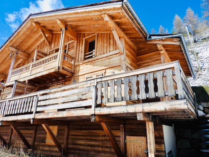 Magnifique chalet en bois Isola 2000