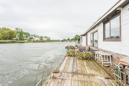 Romantic Houseboat in Weesp 2p. - Weesp - Boot