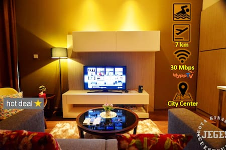 Cozy SOHO Suite with WIFI @ City Center/Imago Mall - Kota Kinabalu - Huoneisto