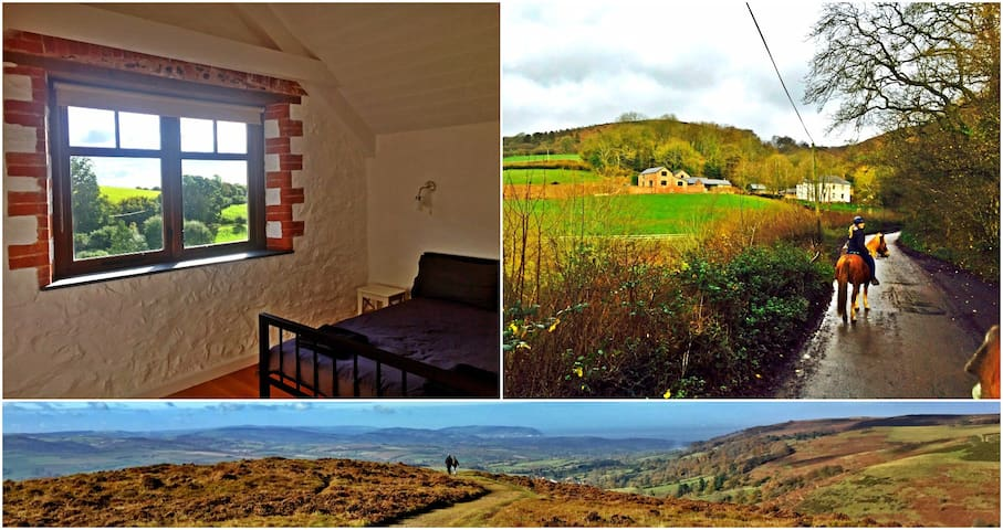 Airy modern Victorian barns with stunning views - Bishop's Lydeard - Rumah