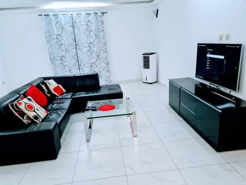 Appartement moderne avec belle vue.
