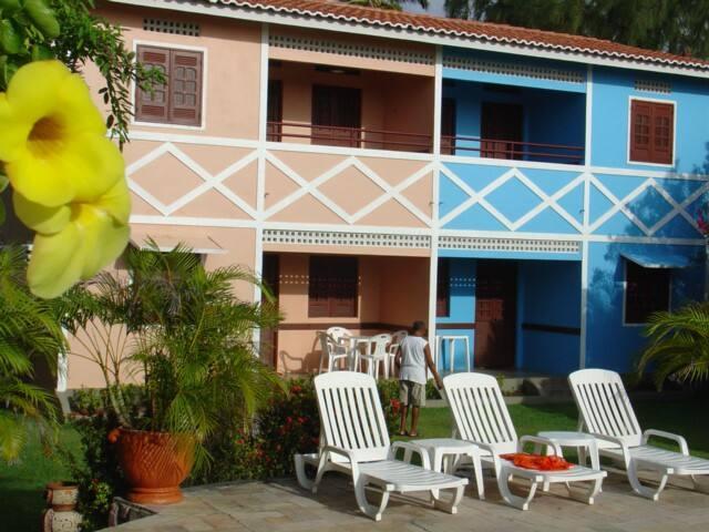 Chalé no lado mais bonito e sossegado de Itamaracá - Ilha de Itamaracá - Mobilyalı daire