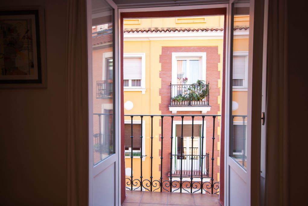 Balcón exterior Habitación Principal