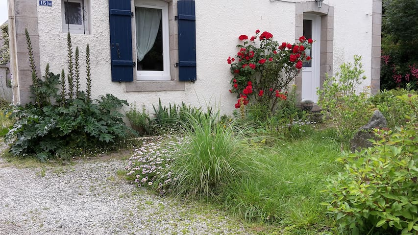 Maison avec jardin au centre-ville.
