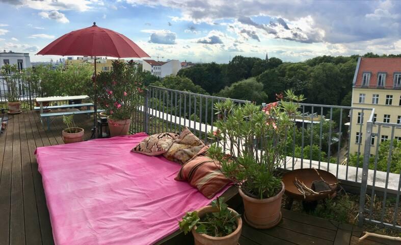 Rooftop terrace / Dachterrasse