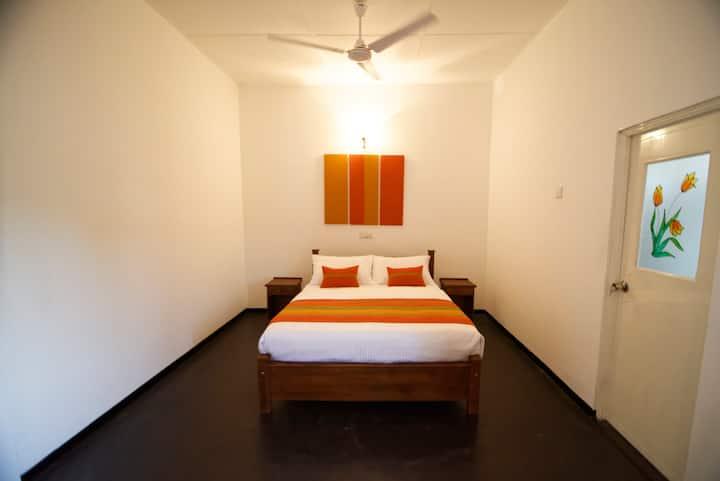01 - Deluxe Double Room (A/C) @ Villa Hikka Hills