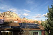 Our fully solar powered home!