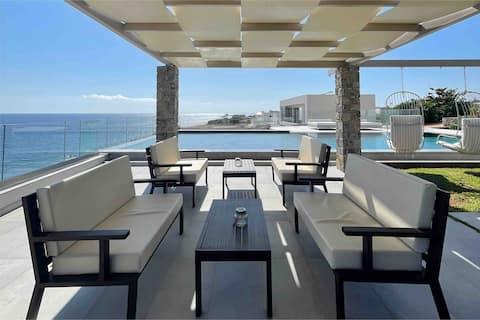 Villa Proistakis direct sea view 5