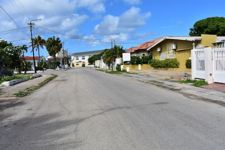 A nice relax neighborhood so you can interact with the local people.