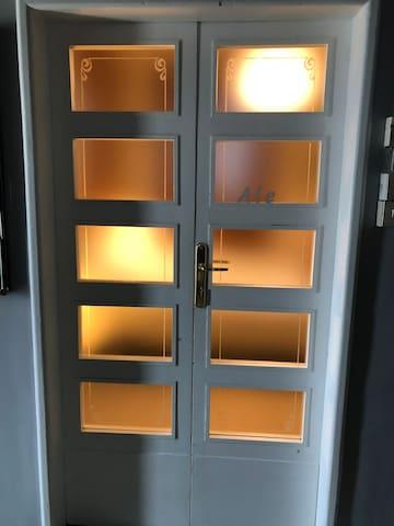 I Pippo camera Ale con bagno comune