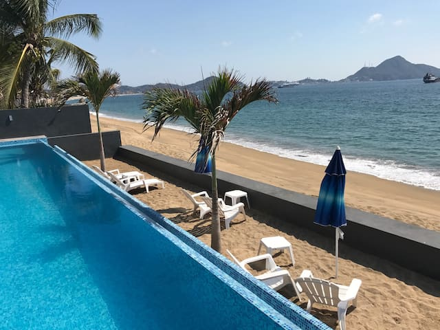 NEW APARTMENT WITH SEA SIGTH TOTALLY EQUIPED - Manzanillo  - Appartement