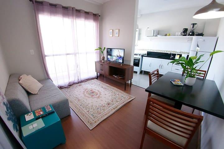 Barigui, bem localizado, fácil acesso, confortável