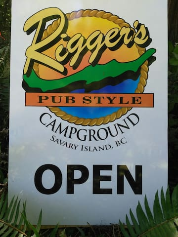 Riggers Pub Style Campground (Site #1) up to 6 ppl
