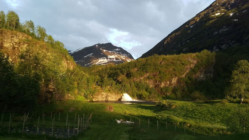 Nice and quiet apartment in Geiranger