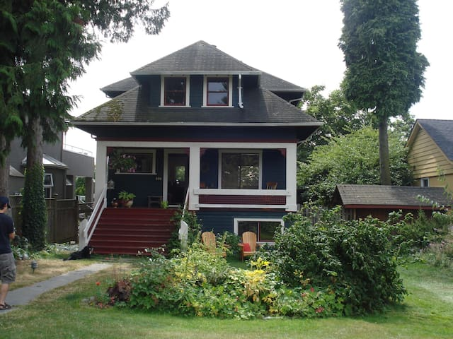 Beautiful Haritage Home in North Vancouver - North Vancouver - Casa