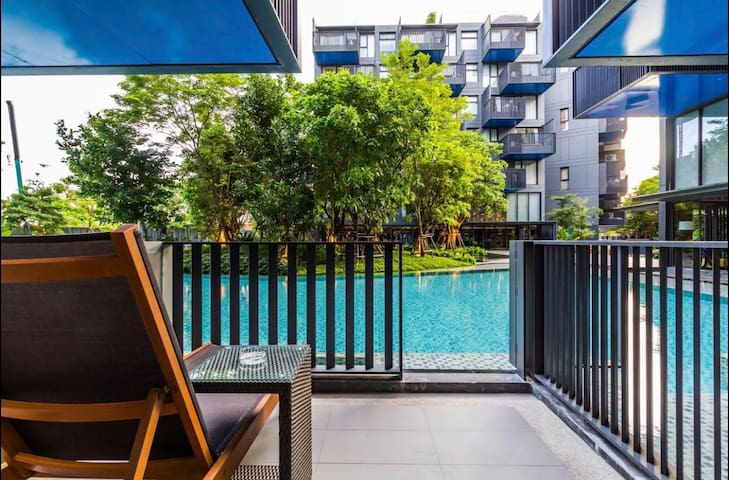 Patong65㎡2BR,pool accessInfinity pool