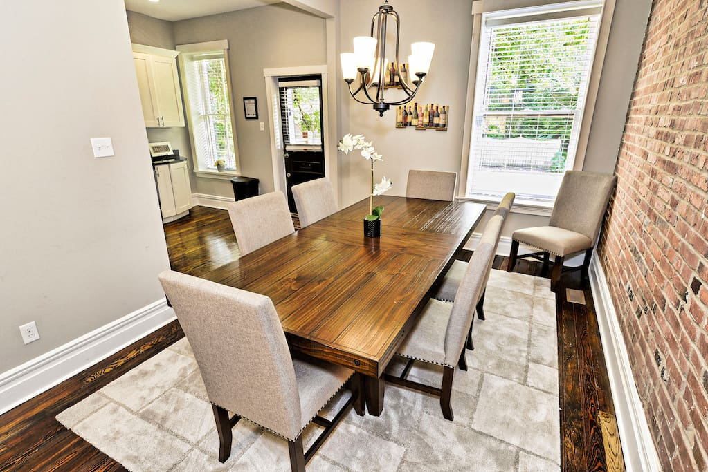 Large eat in dining room