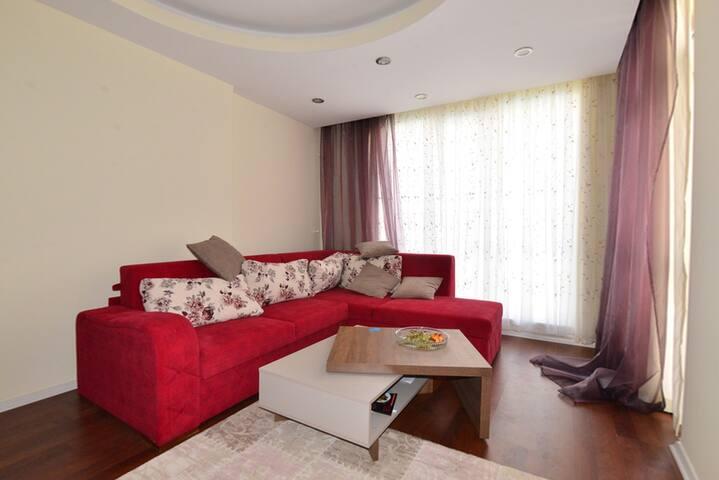 Уютная квартира с 2 спальнями - Анталья - Serviced apartment
