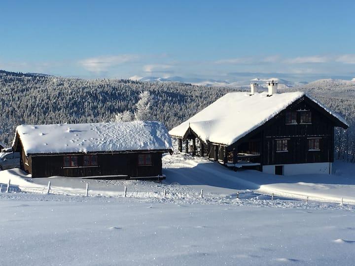Heggerud Seter - stor hytte med fantastisk utsikt