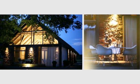Design stone villa nearby the Baltic sea, 4BR, 5BA