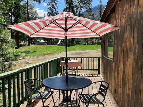Kings Cabin at Camp Sierra, near Shaver Lake