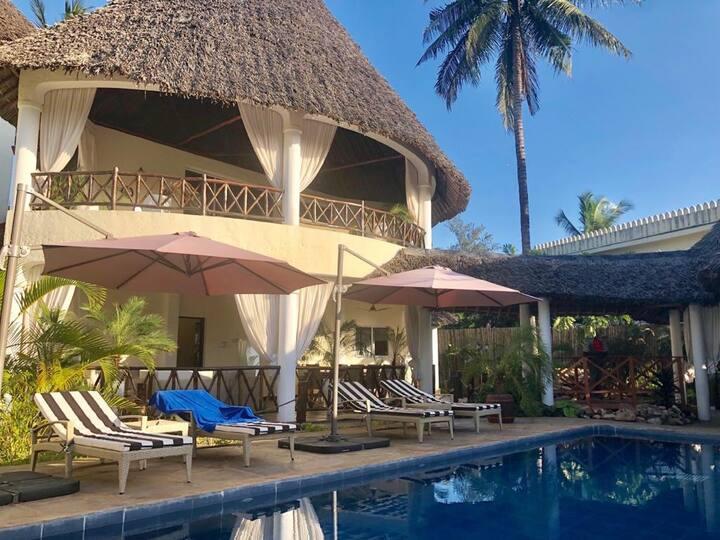 A private charming villa