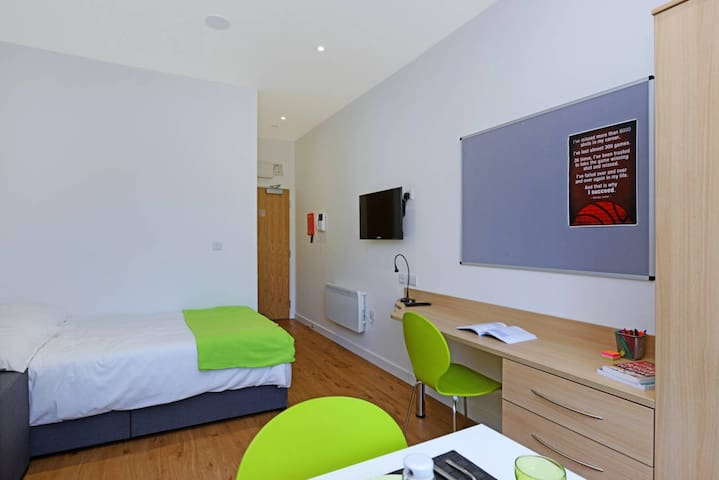 Luxury Studios near University (No.3) - Huddersfield - Apartament