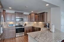 Awesome modern kitchen.