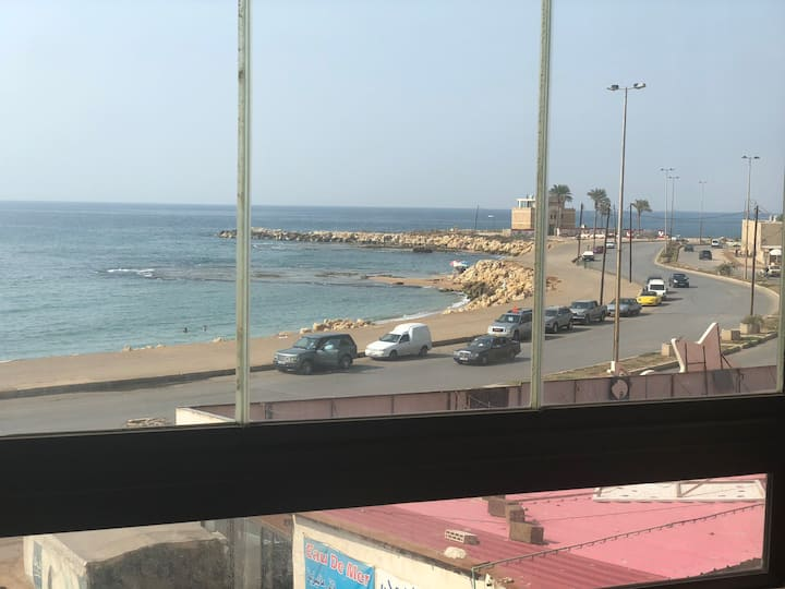 Luxury Apartment SEA VIEW in Tripoli  cornich