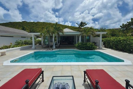 La Perla Classic - Baie Rouge Beach Front with Pool and Jacuzzi - Terres Basses