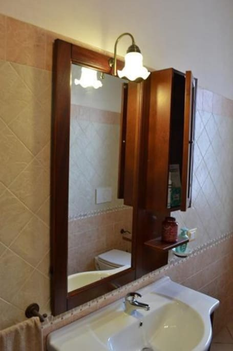 bagno privato per ogni camera