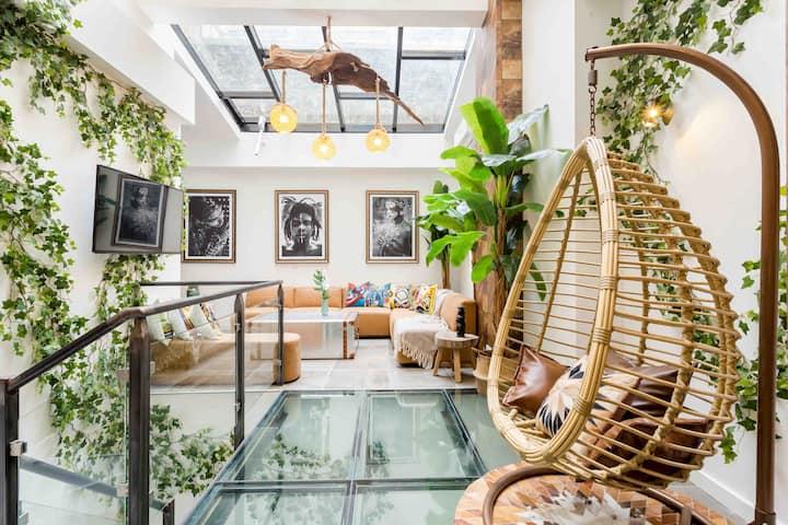 Gorgeous loft bohemiam style Canal St Martin 4/6P