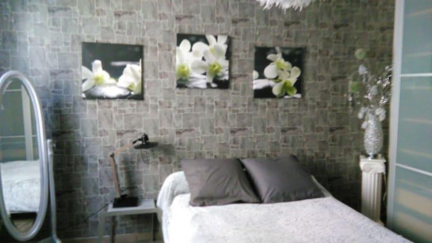 Chambre cosy-zen