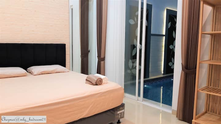 Chez Moi: Getaway with Private Pool @Malang