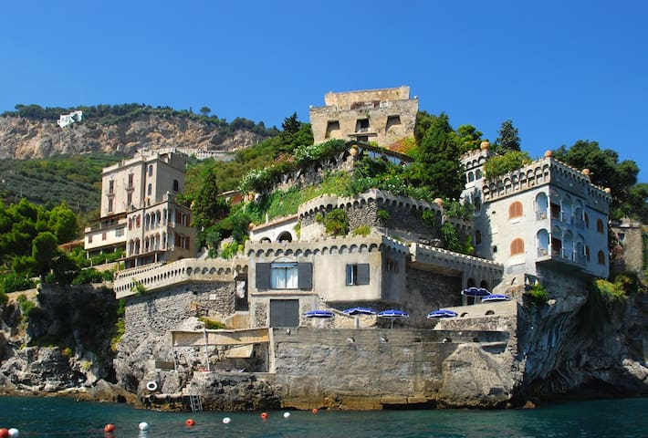 Wagner - Accesso al mare e piscina - Marmorata