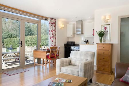 A luxury one bed two storey countryside cottage