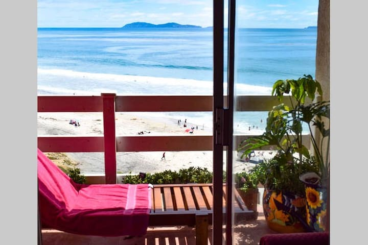 Two Seaside Rooms, Pool on Baja Ocean Beach