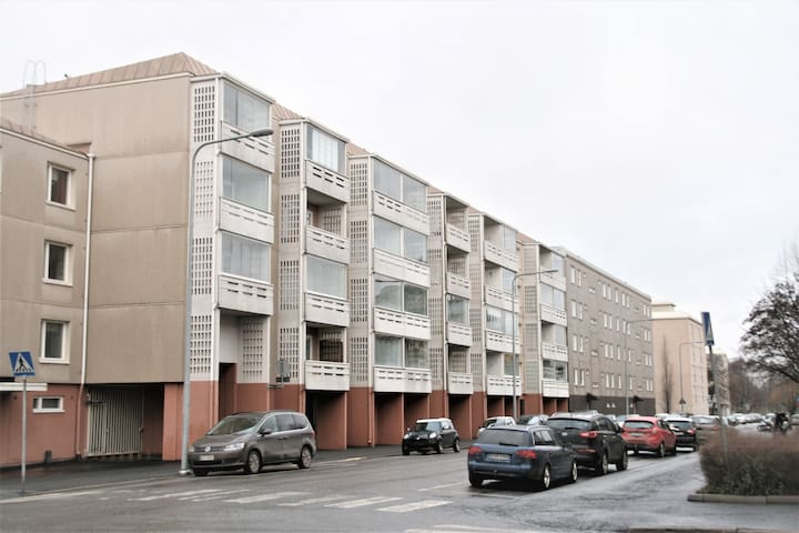 Forenom Two-bedroom apartment in Pori city center - Katariinankatu 5