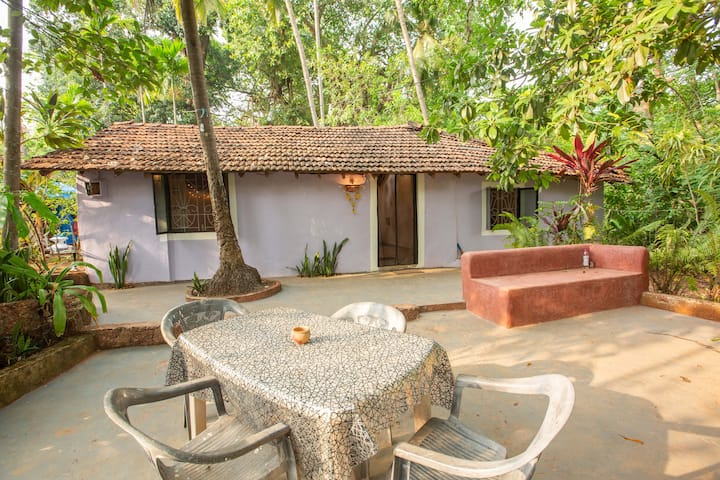 Nature House 250m to Patnem beach - best WiFi