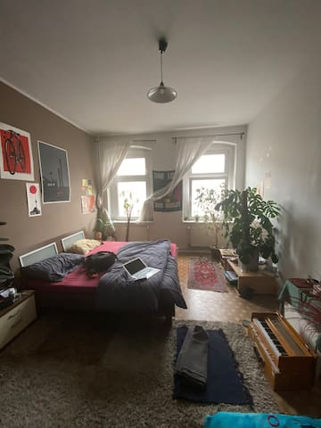 Cozy, central, sunny room in the middle of Berlin